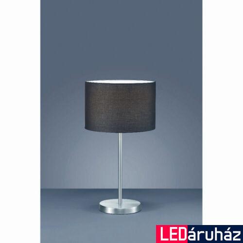 TRIO HOTEL asztali lámpa, fekete, E27 foglalattal, TRIO-511100102