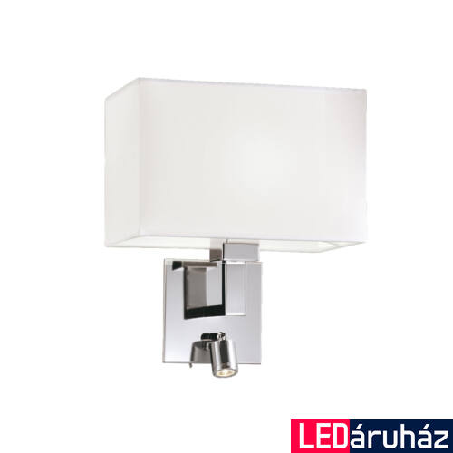 Viokef BALTIMORE fali lámpa fehér, 3000K melegfehér, E27, 90 lm, VIO-4172400