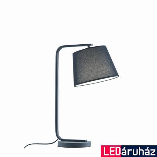 Viokef COBBE asztali lámpa fekete, E27, VIO-4174900