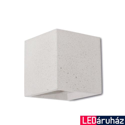 Viokef CONCRETE fali lámpa, fehér, G9 foglalattal, VIO-4096902