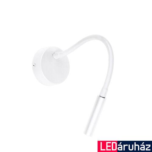 Viokef IVOR fali lámpa fehér, 3000K melegfehér, beépített LED, 180 lm, VIO-4176001