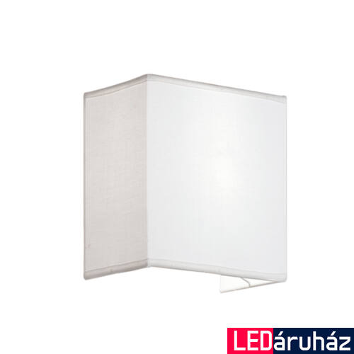 Viokef LINEA fali lámpa fehér, E27, VIO-4123800