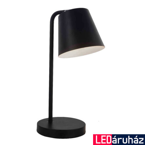 Viokef LYRA asztali lámpa fekete, E14, VIO-4153101