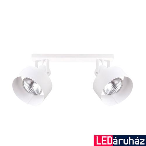 Viokef NORTON fali lámpa, 2 foglalattal, fehér, E27 foglalattal, VIO-4185300