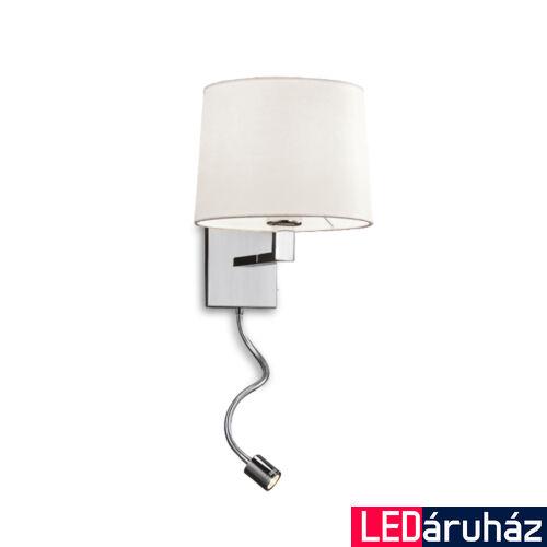 Viokef REICHEL fali lámpa fehér, 3000K melegfehér, E27, 90 lm, VIO-4101800