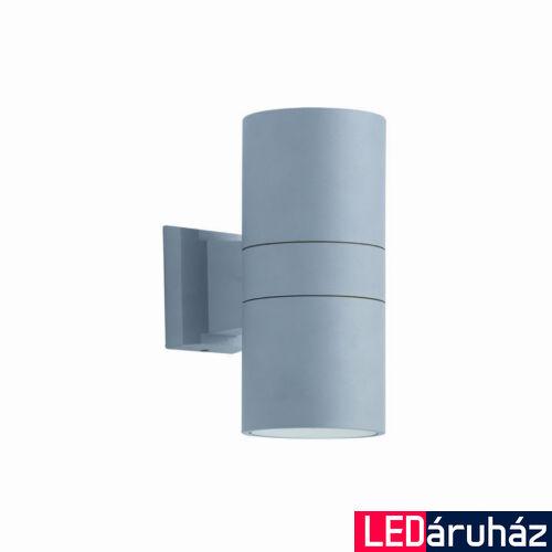 Viokef SOTRIS fali lámpa 2 foglalattal, szürke, E27, VIO-4038200