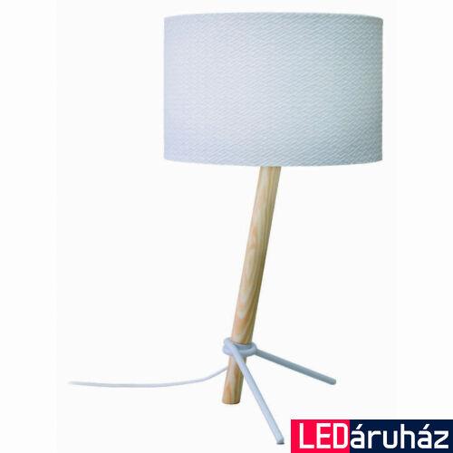 Viokef TAMPA asztali lámpa fehér, E27, VIO-4186400
