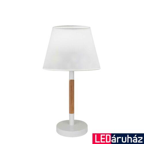 Viokef VILLY asztali lámpa fehér, E27, VIO-4188100