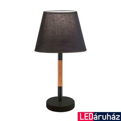 Viokef VILLY asztali lámpa fekete, E27, VIO-4188101