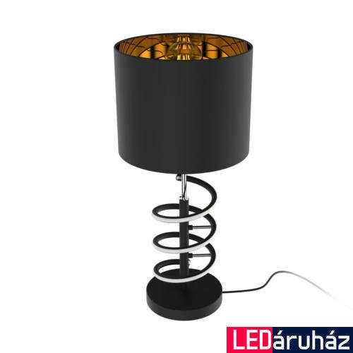 Zuma Line Tina asztali lámpa, fekete, E27, 1x42W+10W, 420 lm, ZU-TL180515-2