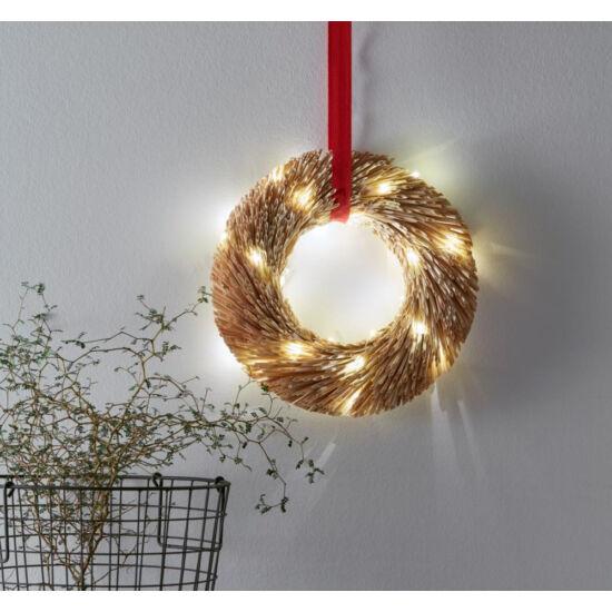 Markslöjd Berta függő dekoráció, 30 cm, rattan, beltéri