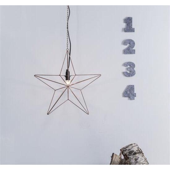 Markslöjd Tjusa függő dekoráció, 42 cm, E14, réz/fém, beltéri