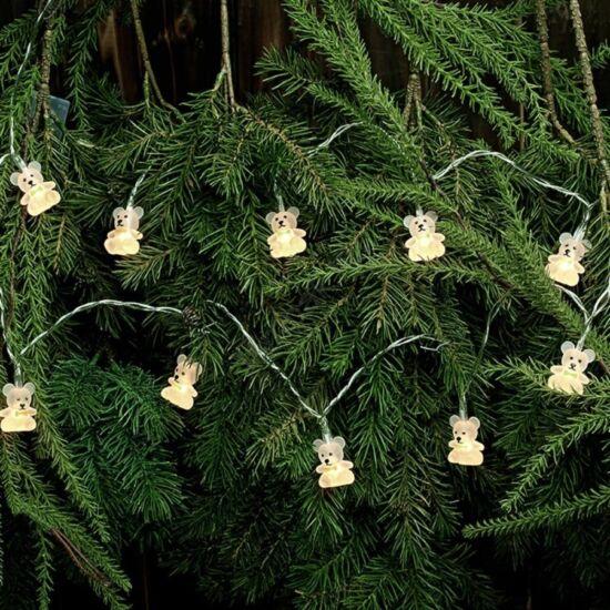 Markslojd Nalle karácsonyi lánc, 0,6W/3xAA,140 cm beltéri