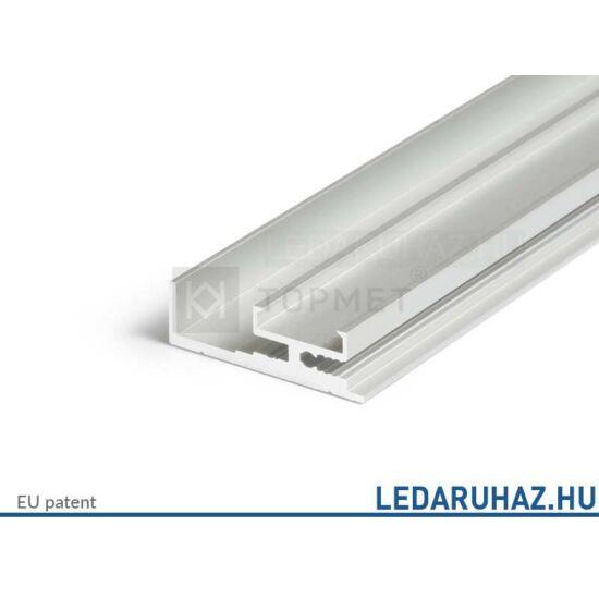Topmet Ambi12 alumínium LED profil, ezüst eloxált (előlap:C) - B3510020 - 2m
