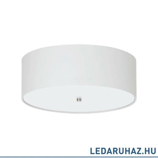 EGLO 94918 PASTERI Textil mennyezeti lámpa, 47,5 cm, fehér, 3 db. E27 foglalattal + ajándék LED fényforrás