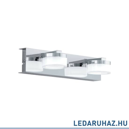 EGLO 96542 ROMENDO 1 Króm LED fali lámpa, 30x7 cm, 2x7,2W, 3000K melegfehér, 1140 lm, IP44