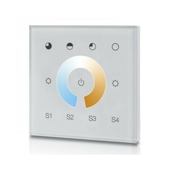 Zigbee 3.0 CCT  fali színhőmérséklet vezérlő Philips Hue rendszerhez - monokróm, TouchLink