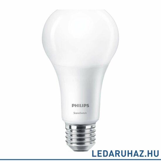 Philips E27 14 W E27 LED fényforrás, 1521 lm, 2700K / 2500K / 2200K SceneSwitch