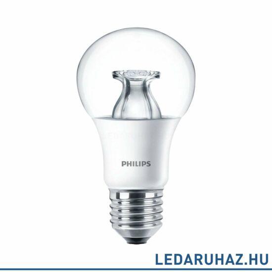 Philips MASTER 8,5 W E27 LED fényforrás, 806 lm, 2700K-2200K DimTone, fényerőszabályozható
