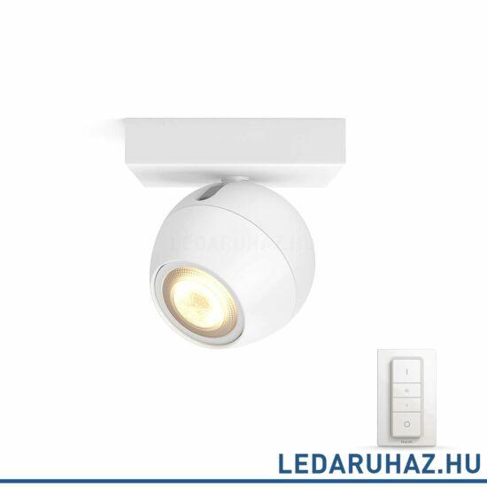 Philips Hue Buckram LED spotlámpa, fehér, változtatható színhőmérséklet 2200-6500K, 1x5.5W, 250 lm, 50471/31/P7