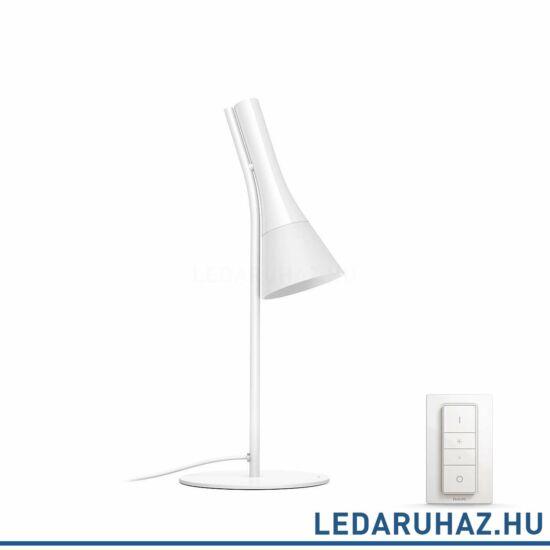 Philips Hue Explore asztali lámpa, fehér, 6W, 230V, IP20, 2200-6500K, a fényforrást tartalmazza +DimSwitch, 4300331P7