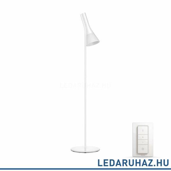 Philips Hue Expolre LED állólámpa, fehér, 9.5W, 230V, IP20, 2200-6500K, a fényforrást tartalmazza, +DimSwitch, 4300431P7