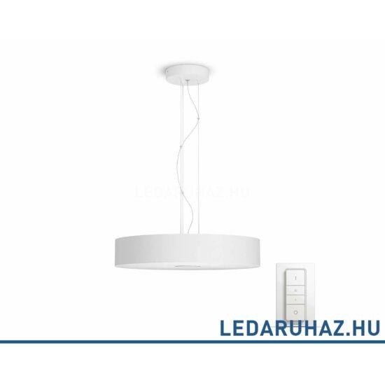 Philips Hue Fair LED függesztett lámpa, fehér, 39W, 3000 lm@4000K, 2200K-6500K + DimSwitch, 40339/31/P7