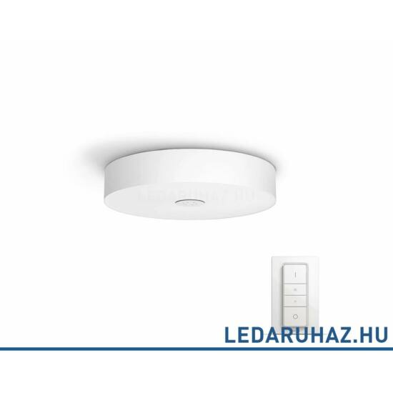 Philips Hue Fair mennyezeti LED lámpa, fehér, 39W, 3000 lm@4000K, 2200K-6500K + DimSwitch, 40340/31/P7