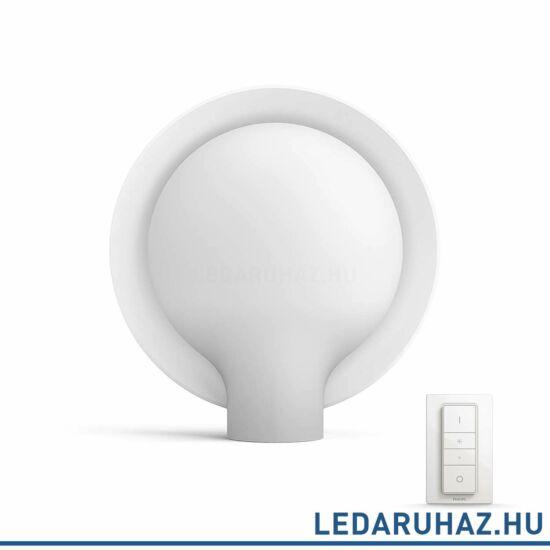 Philips Hue Felicity asztali lámpa, fehér, 1x9.5W, 806 lm, változtatható színhőmérséklet 2200-6500K, 40975/31/P7