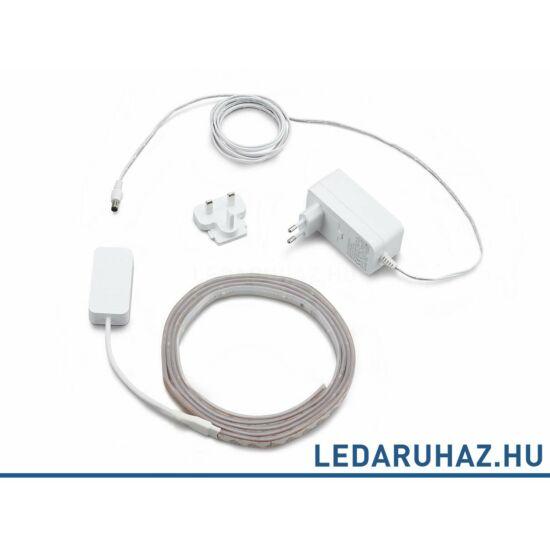 Philips Hue Lightstrip Plus, 2m RGB+W+WW LED szalag 71901/55/PH, 230V EU adapterrel