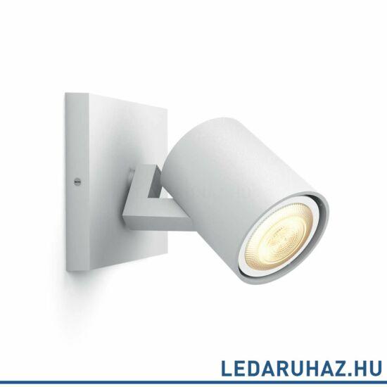Philips Hue Runner fali/mennyezeti fehér LED spot, 2200K-6500K GU10, 53090/31/P8