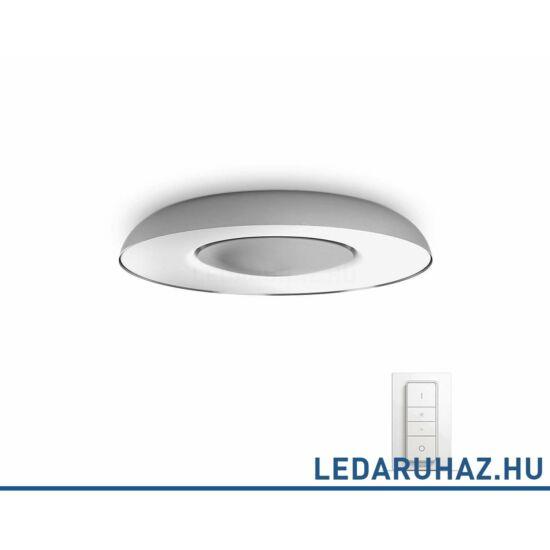 Philips Hue Still LED mennyezeti lámpa, alumínium, 32W, 2400 lm@4000K, 2200K-6500K + DimSwitch, 32613/78/P7
