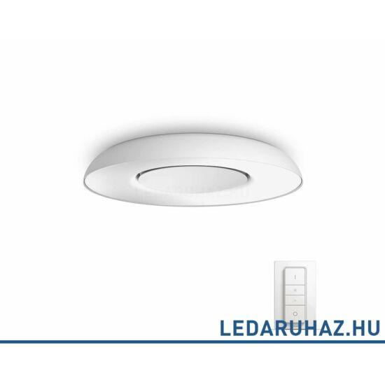 Philips Hue Still LED mennyezeti lámpa, fehér, 32W, 2400 lm@4000K, 2200K-6500K + DimSwitch, 32613/31/P7