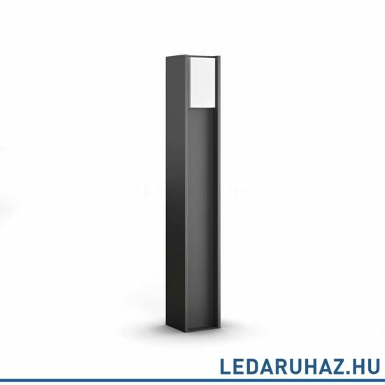 Philips Hue Turaco kültéri LED állólámpa, antracit, 9.5W, 230V, IP44, 2700K melegfehér fénygorrással, 1647493P0