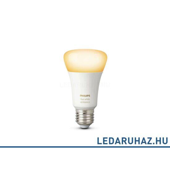 Philips Hue White Ambiance fehér E27 LED - változtatható színhőmérsékletű 2000K-6500K fényforrás - 8718696548691