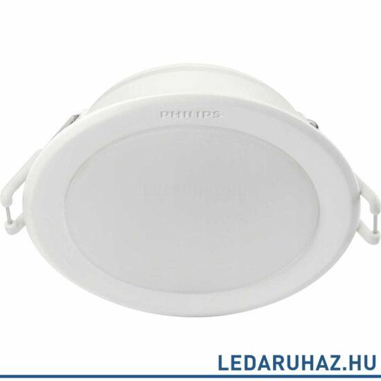 Philips Meson fehér süllyeszthető mennyezeti LED lámpa, beépített LED, 3000K melegfehér, 1x10W, 14 cm átmérő, 5920331P1
