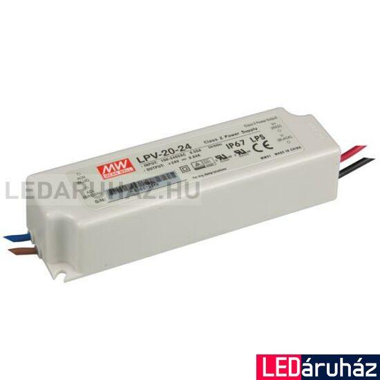 Tápegység Mean Well LPV-20-24 20W/24V/0-0,84