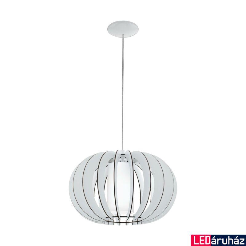 EGLO 95606 STELLATO 2 Fa függesztett lámpa, 40cm, fehér, E27 foglalattal + ajándék LED fényforrás