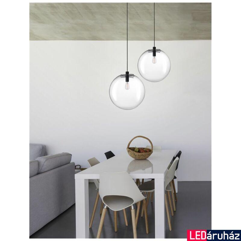 Nova Luce Ovvio függeszték, 40 cm, üveg, Fényforrás nélkül, NLC-42108002