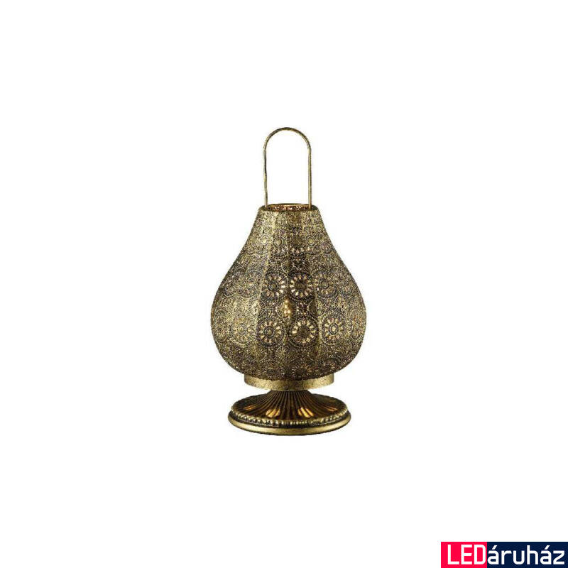 TRIO JASMIN asztali lámpa antikolt, E14, TRIO-503700104