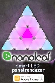Nanoleaf Aurora Apple HomeKit smart LED panel világítás ledáruház